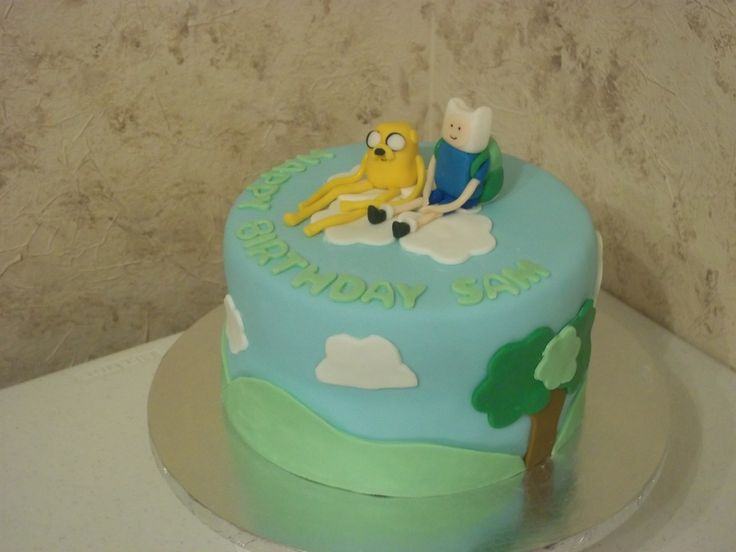 about Xaviers Birthday Cake on Pinterest  Adventure time cakes ...
