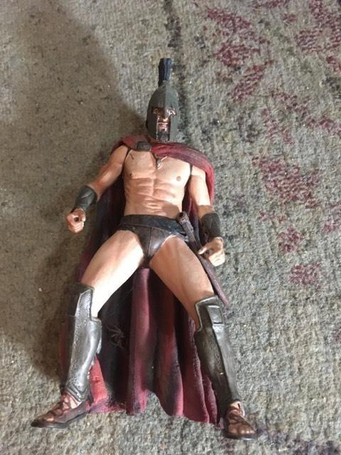 King Leonidas Spartan 300 Action Figure Loose Neca