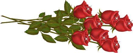 flor_g99.gif (438×175) | Цветы, Каллы, Красивые цветы