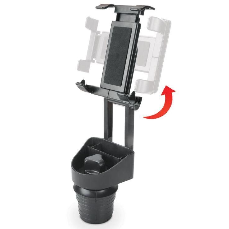 The Automobile iPad Cupholder Mount - Hammacher Schlemmer