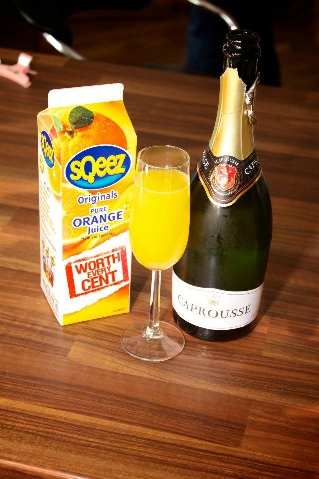 Pre wedding drink