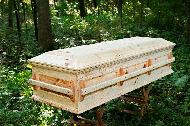 homemade casket designs