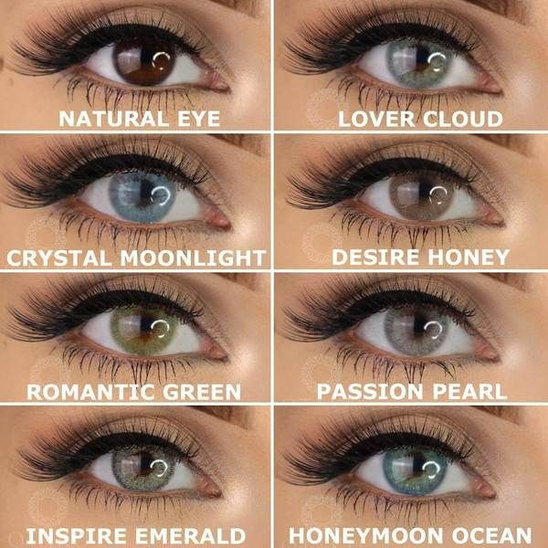 How To Pick The Best Colored Contacts For Dark