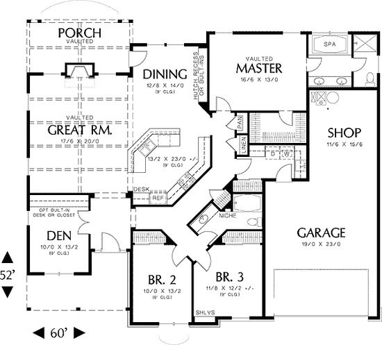 Best House Plans Sq Ft Images On Pinterest Small