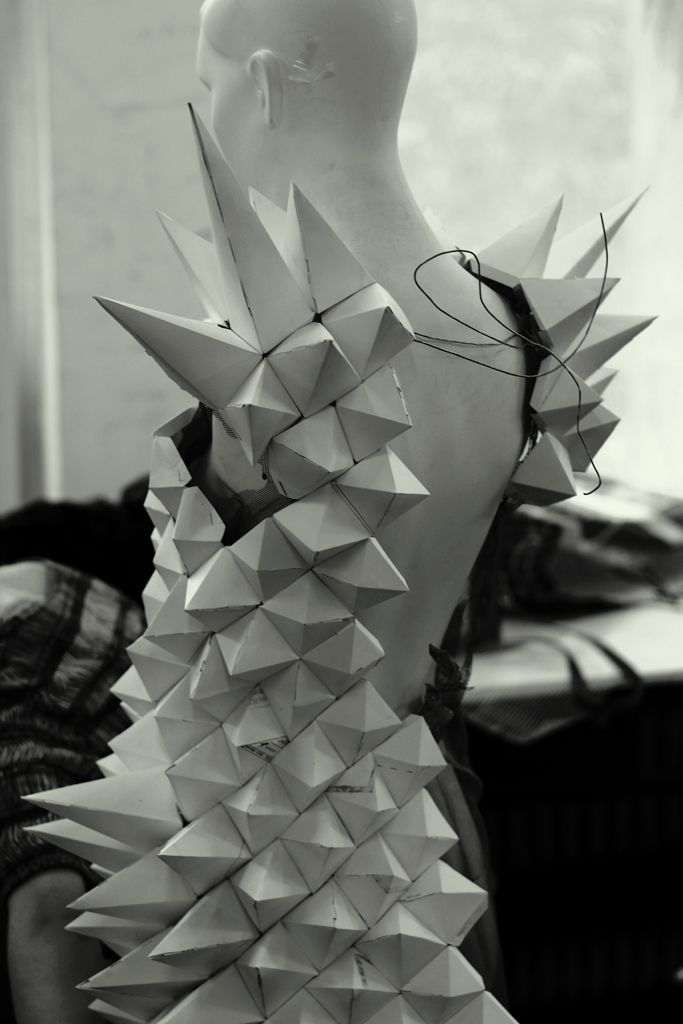 im really inspired by the thought of almost patch working the origami