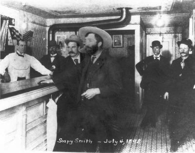 Soapy Smith, Jeff Smith's Parlor. July, 1898. Skagway, Alaska