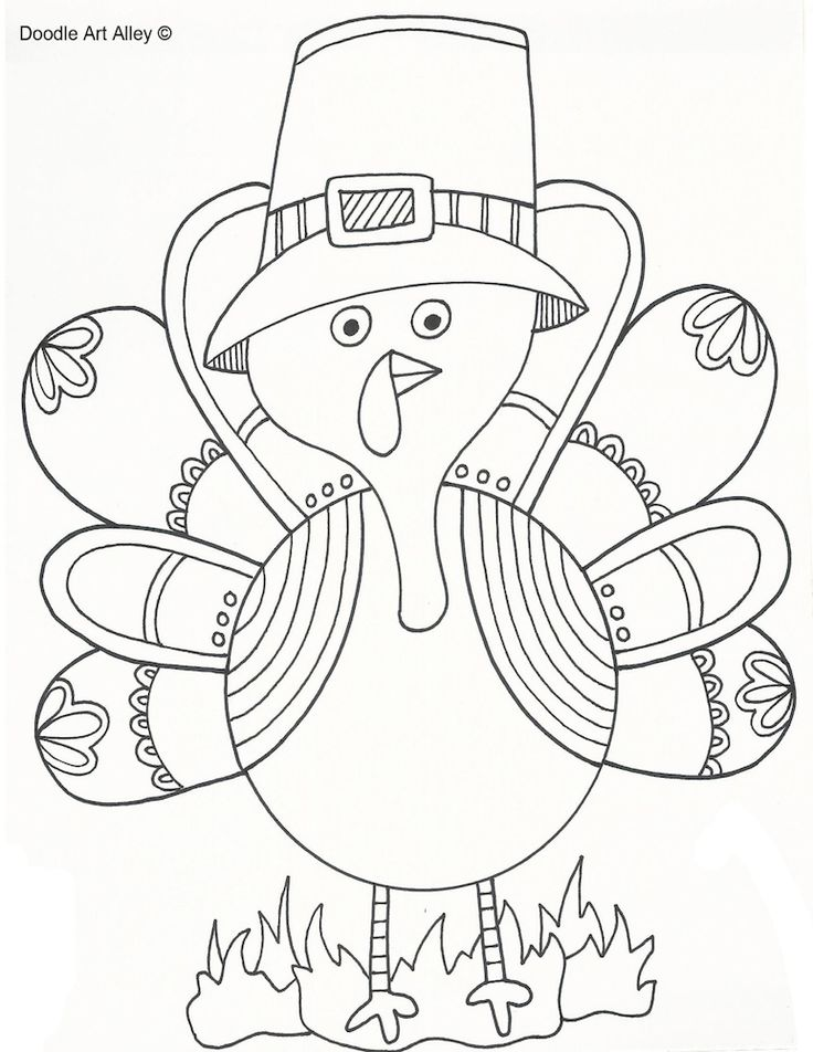 Mejores 104 imágenes de Thanksgiving Coloring Pages en