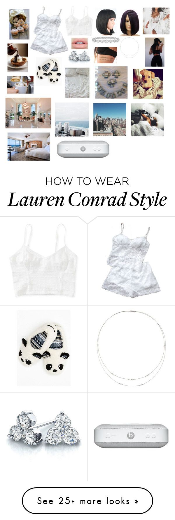 """""""GoodMorning"""" by darkeyesab on Polyvore featuring Aéropostale, Concord, Lauren Conrad, Suzy Levian, Epoque and Wigs2You"""