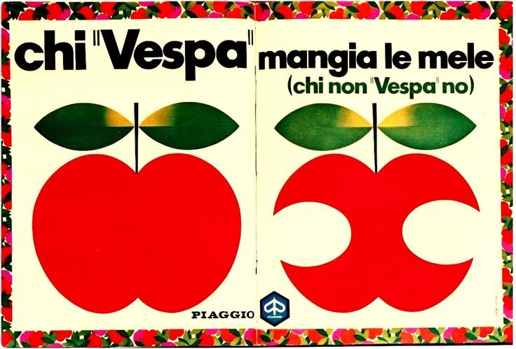 """Piaggio Vespa - Chi """"Vespa"""" mangia le mele"""