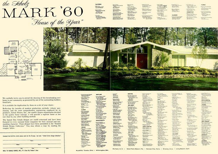 241 best Vintage Home Plans images on Pinterest | Floor plans ...