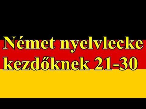 Rövid , egyszerű mondatok, https://youtu.be/sBacSHGG99g Német kezdő nyelvlecke , német alapszókincs , német nyelvtanulás otthon ,egyszerűen németül, német ny...