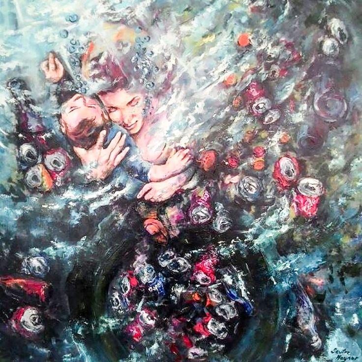 Atıklar (Waste) by Sevim Kaynar Tuval üzerine #yağlıboya / #Oiloncanvas 100cm x 120cm 4.000₺ / 1.100$  #gallerymak #sanat #resim #yagliboya #ig_sanat #istanbulmodern #contemporaryistanbul #artankara #artistanbul #istanbul #soyut #modernsanat #çağdaşsanat #atölye #dışavurum #abstractart #abstractpainting #expressionism #contemporaryart #contemporarypainting #artist #art #instaart #artlovers #sanatseverler #artcollection #müze #masterp