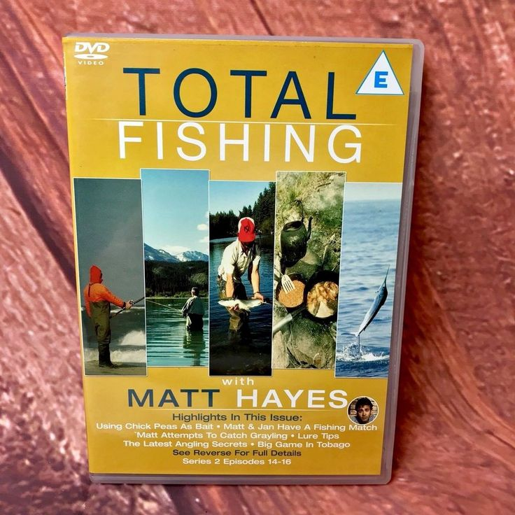 TOTAL FISHING MATTS HAYES DVD SERIES 2 Episodes 14-16 Match Warhoo Greyling Carp