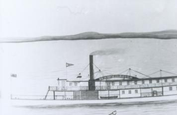 The Ida Whittier served on the upper St. John River between 1868 and 1875, till she and several others were put out of service by the New Brunswick Railway.