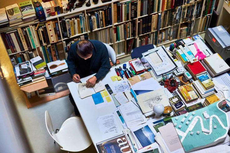 Tadao Ando's studio