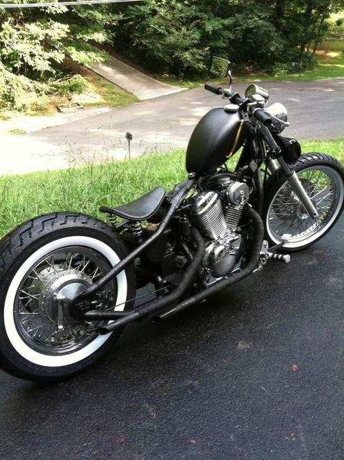 Honda Shadow bobber | Bobber Inspiration - Bobbers and Custom Motorcycles | sigfrd August 2014