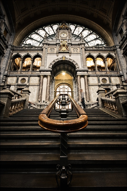 One of the oldest train stations in Europe- Antwerpen, Belgium