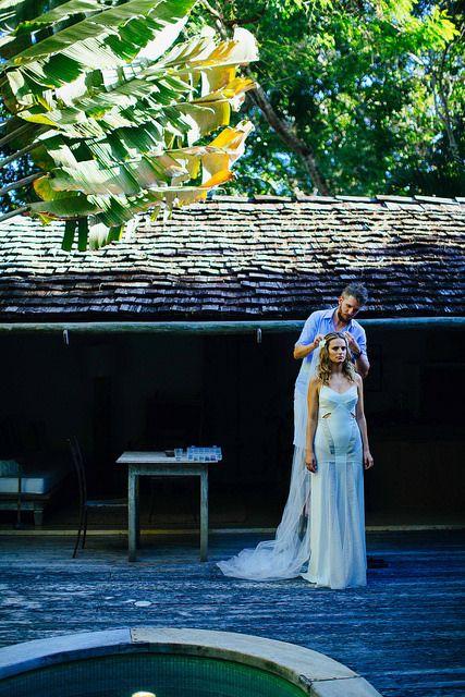 Almost ready for a special wedding in Trancoso. UXUA Casa Hotel & Spa, Bahia.