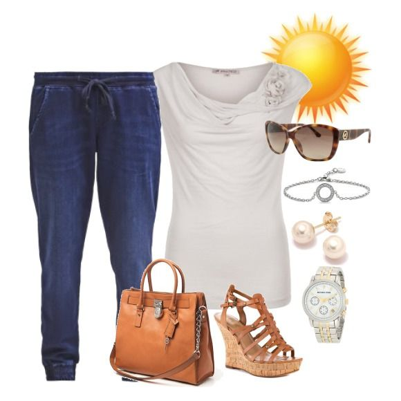 Relaxed summer outfit