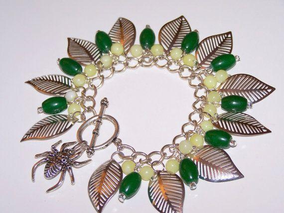 Art beads Gemstones Traditional Green JadeLemon Jade by Sunny1167, €24.99