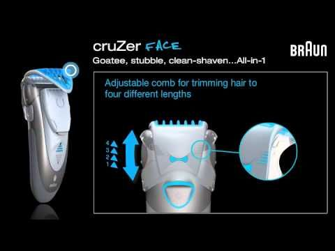 Sleek 3-in-1 shaver, styler and trimmer. Turn facial hair into a stylish beard.  Braun cruZer 6 Face Trimmer - http://www.duracelldirect.co.uk/pno/c6face.html  More Braun Shvers and Trimmers at DuracellDirect: http://www.duracelldirect.co.uk/braun/shaver-trimmer-clipper.html