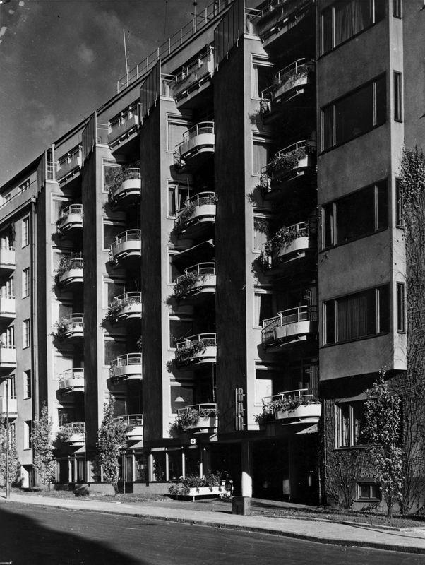 Kollektivhuset, Sven Markelius 1934-35