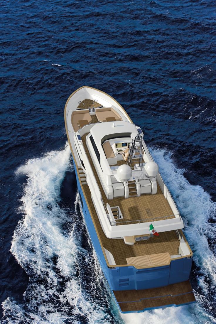 External view Mochi Craft - Long Range 25 #yacht #luxury #ferretti #mochi