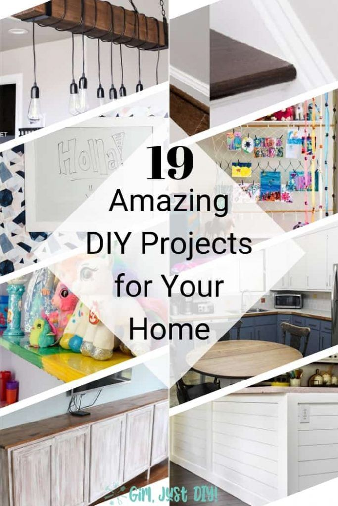 19 Amazing Household Diy Projects You Can Do Yourself Diy Decor