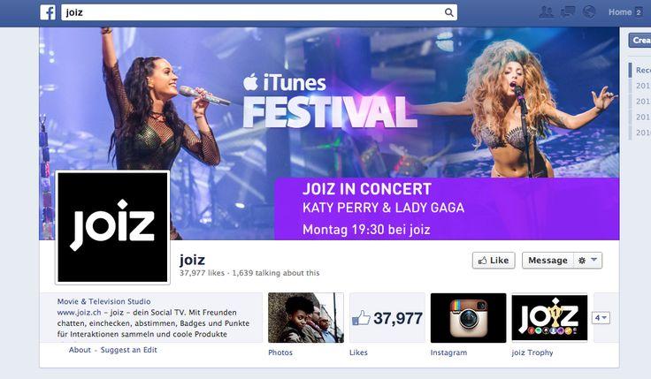 joiz - multimedial, viele Gewinnspiele/Verlosungen, Tickets etc. Unterhaltend.
