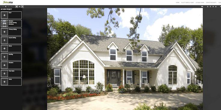 11 Free Home Exterior Visualizer Software Options In 2021 House Exterior Exterior House Colors Exterior Design