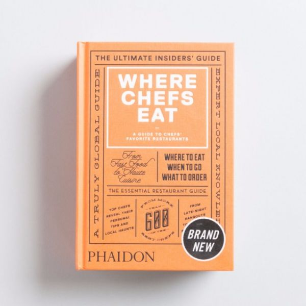 Where Chefs Eat Guide Book: The completely revised new edition of the best-selling restaurant guidebook, which sold over 100,000 copies. This is the ultimate restaurant guide written by the real experts: more than 600 of the world's best chefs, including recommendations from René Redzepi, David Chang, Jason Atherton, Shannon Bennett, Helena Rizzo, Massimo Bottura, Yotam Ottolenghi, Yoshihiro Narisawa and hundreds more. The book features more than 3,000 restaurants in more than 70 countries…