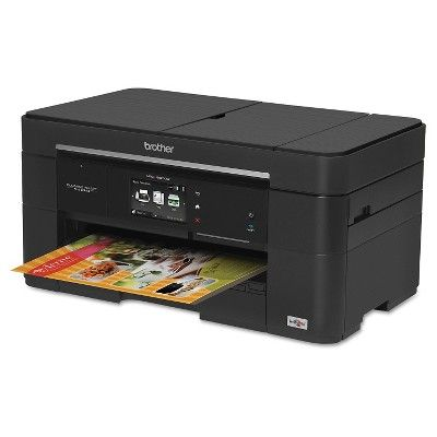 Brother Business Smart Plus Mfc-J5520DW Multifunction Inkjet Printer - Black (BRTMFCJ552)