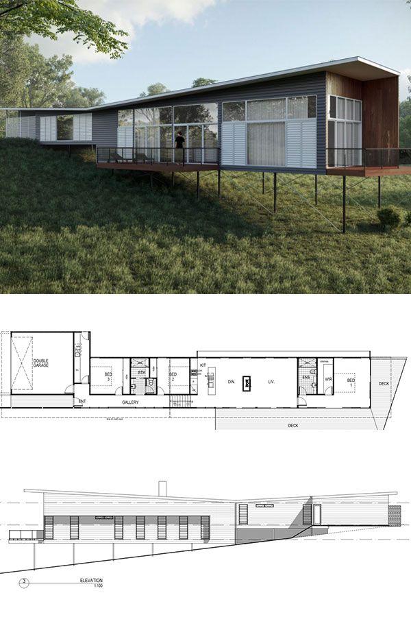 Dragonfly Architecturally Designed Kit Home 243m2 121 257 Aud Imagine Kit Homes Kit Homes Australia House Plans Australia Kit Homes