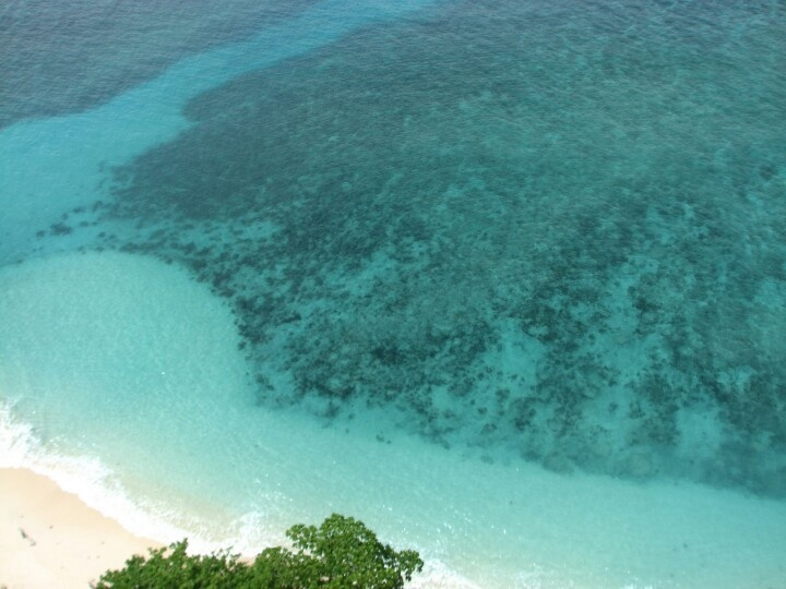 Clear water and corals, home for various fishes and creatures. Good place for snorkling.