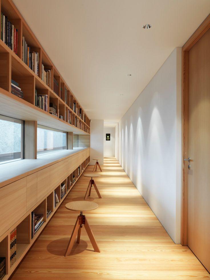 Contemporary Alpine House by Ralph Germann/ Fribourg, Switzerland