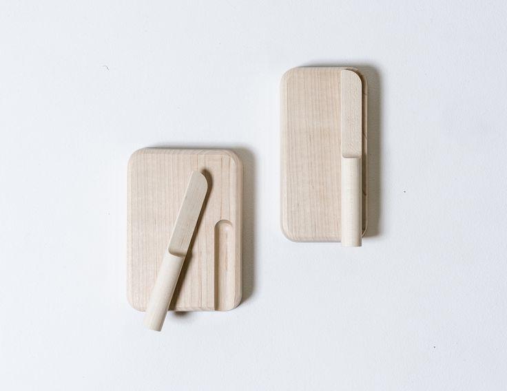 Butter Dish & Butter Knife by Studio Gorm