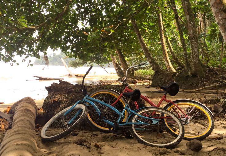 Bike riding in Puerto Viejo, Costa Rica
