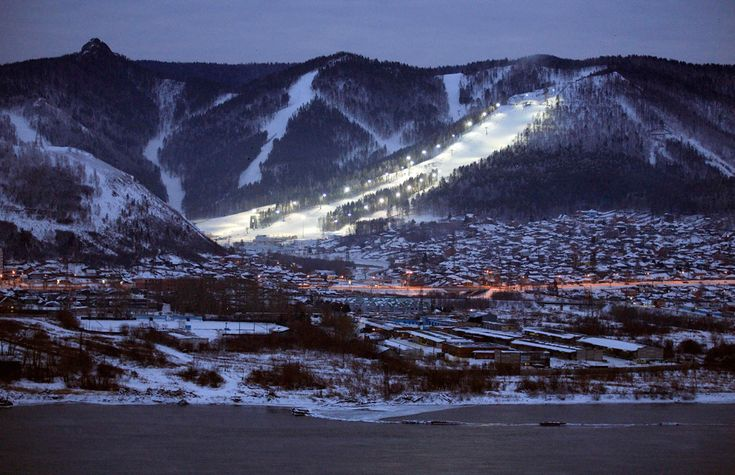 The ski resort Bobrovy Log (Beaver Gorge) Yenisei River seasons - The Big Picture - Boston.com