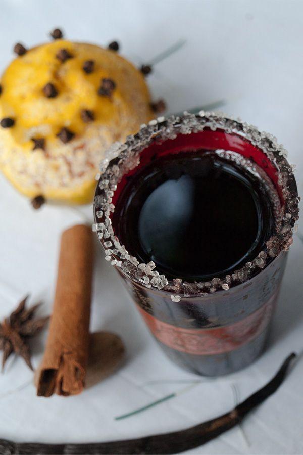 Glühwein - Spiced Austrian & German Christmas Mulled Wine  #stepbystep #recipe masalaherb.com