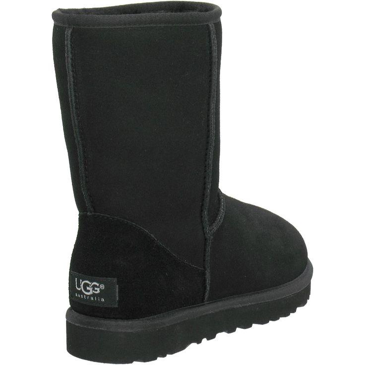 ugg+boots | UGG Classic Short Boots 5825 Black : Uggs kopen,Goedkope ugg laarzen ...