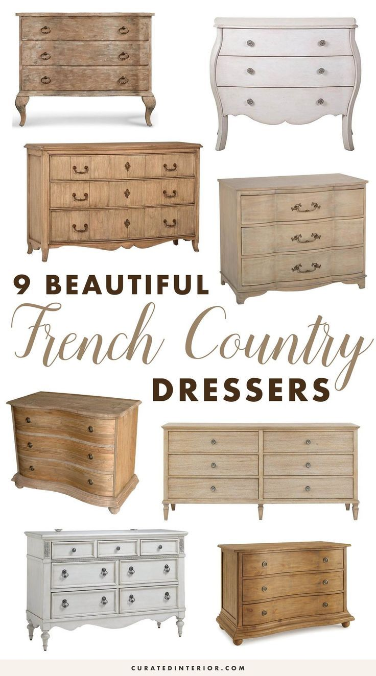 9 Neutral French Country Dressers For The Bedroom French Country Dressers French Country Furniture French Country Living Room