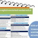 8,00 € : Fachuebersetzer de-englisch Technisches Woerterbuch mechatronische Antriebe