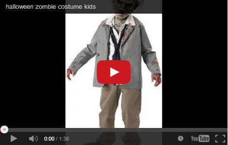 Halloween costumi bambini maschera da zombie