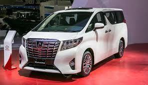 Toyota Alphard 3.5 Q A-T Mobil - White Pearl Crystal Shine