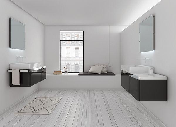 Structure collection by Inbani. #bathroom #furniture #design