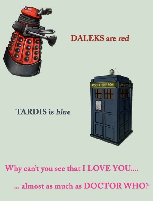 Doctor Who pick up line