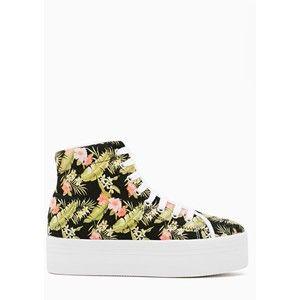 Homg Platform Sneaker - Tropic