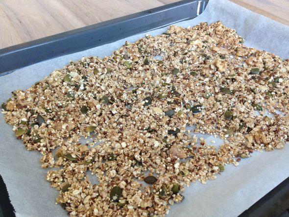 I Love Health | Granola recipe || gluten free, sugar free | http://www.ilovehealth.nl