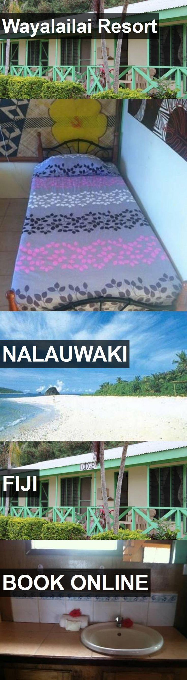 Hotel Wayalailai Resort in Nalauwaki, Fiji. For more information, photos, reviews and best prices please follow the link. #Fiji #Nalauwaki #travel #vacation #hotel