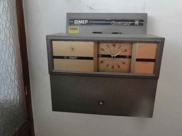 Relógio de ponto antigo dimep